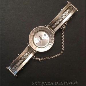 Silpada Women's .925 Silver watch